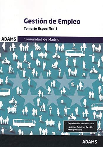 Temario Específico Gestión de Empleo. Comunidad de Madrid
