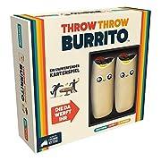 Das hier ist kein gewöhnliches Kartenspiel, denn ihr werdet eure Freunde und Familie mit knautschigen Burritos bewerfen Throw throw Burrito kombiniert das Beste aus Kartenspielen mit dem Besten aus Ballsportarten: Ihr sammelt Karten, Punkte und bewer...