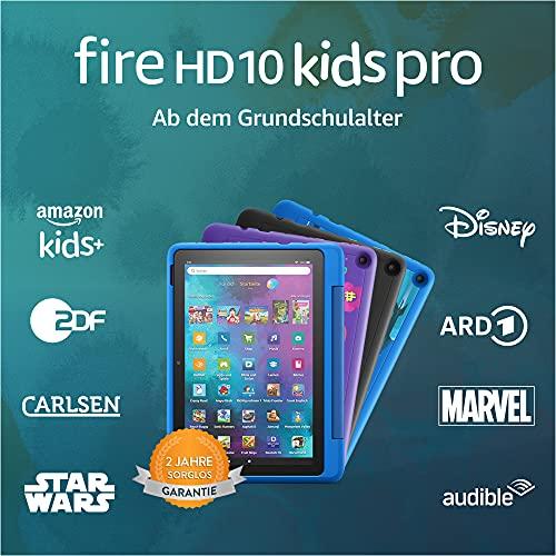 Amazon Fire HD 10 Kids Pro – Kinder-Tablet (2021) ab Grundschule – 10,1 Zoll, 32 GB - 8