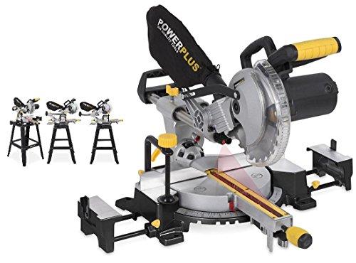 POWERPLUS POWX07557T - Ingletadora telescópica con base2200w-210mm