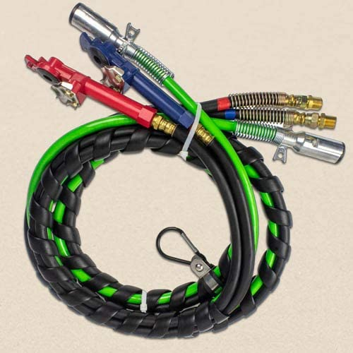 12' 3-IN-1 WRAP - 売却 7 WAY ABS AIR TRAILER ELECTRICAL CABLE 卓出 CORD