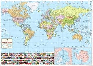 World Map Spanish (36