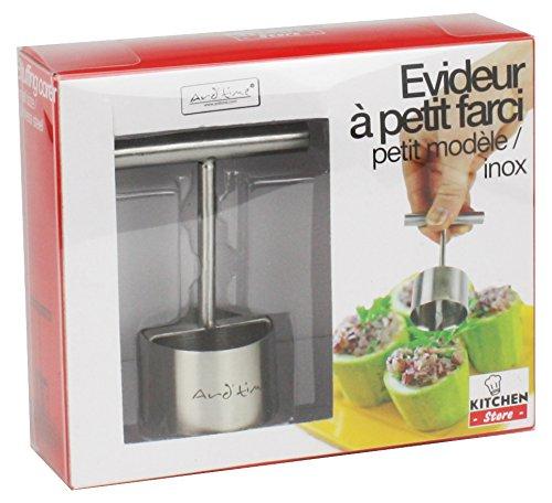 Ard'time KS-FARPM Kitchen Store Découpoir à Petit Farci Acier Inoxydable INOX 5,9 x 3,8 x 8,5 cm Petit Modèle