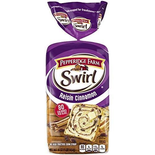 Pepperidge Farm Swirl Raisin Cinnamon Breakfast Bread, 1 lb. Loaf