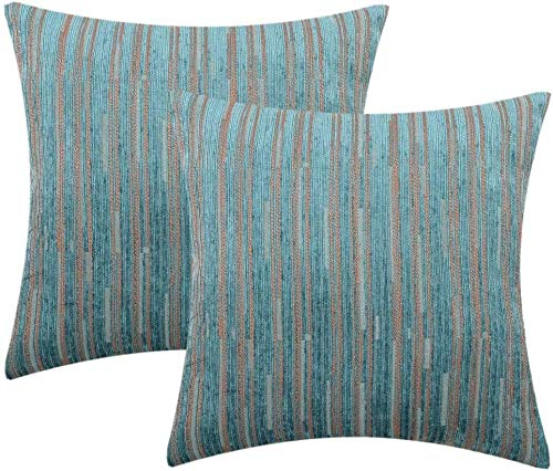 4 piezas de funda de cojín de 40 x 40 cm, decoración cuadrada, funda de almohada, para sofá o dormitorio