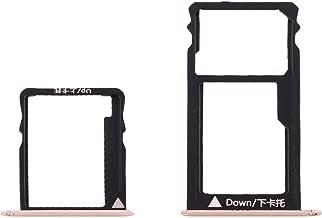 Gbc Huawei Honor 5X / GR5 Micro SIM Card Tray + Nano SIM & Micro SD Card Tray(Grey) Phone Repair Parts (Color : Gold)