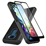 Muokctm for LG K40S Case, LG Harmony 4 Case, with Tempered