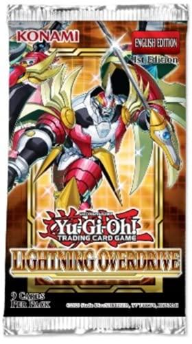 Yu Gi Oh! - Lightning Overdrive Booster Pack - 1ª edición - Inglés (9 Tarjetas Booster Pack)