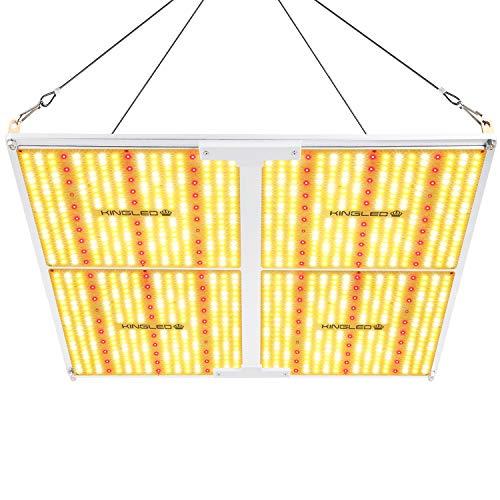 King Plus UL Series 4000W LED Grow Light Full Spectrum Plants Lights for Indoor Veg and Flower Growing Lamp(1240 Samsung LED Chips)