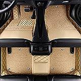 Pbewzq Alfombrillas Coche para Audi A1 A3 A7 A8 Q3 Q5 Q7, Alfombrilla Impermeables para Todo Clima Antideslizantes Alfombras Coche Accesorios
