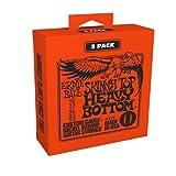 Ernie Ball Skinny Top Heavy Bottom Slinky Electric Guitar Strings 3-Pack - 10-52 Gauge (P03215)