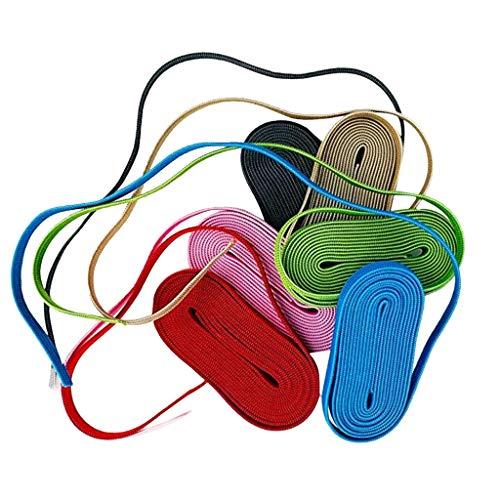 Fannyfuny Gummiband Gummilitze Stoffe zum Nähen Handwerk Stricken Nähzubehör, Buntes elastisches elastisches Band, das in 6 Farben näht für Mundschutz Selber Machen Gestalten DIY