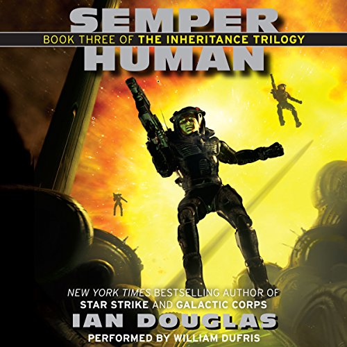 Semper Human audiobook cover art
