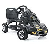 Hauck Batmobile Pedal Go Kart, Superhero Ride-On Batman Vehicle, Kids 4 and Older, Peddle & Patrol...