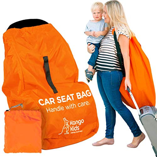 Borsa per seggiolino auto - Accessorio borsa viaggio passeggino robusta per proteggere il seggiolino auto del vostro bambino - Borsa seggiolino auto compatibile con la maggior parte dei seggiolini