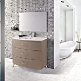 Eviva Bathroom Vanities, Engineered Wood, Champagne