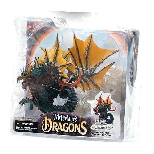 McFarlane - Dragons Serie 4 - Water Clan Dragon - 15cm Actionfigur