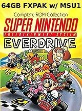 Loaded MicroSD Card for Super EverDrive FXPAK Pro (SD2SNES) - Complete SNES collection, MSU, Hacks, Homebrew.