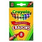 Crayola 8 Nontoxic Crayons, 12 Pack