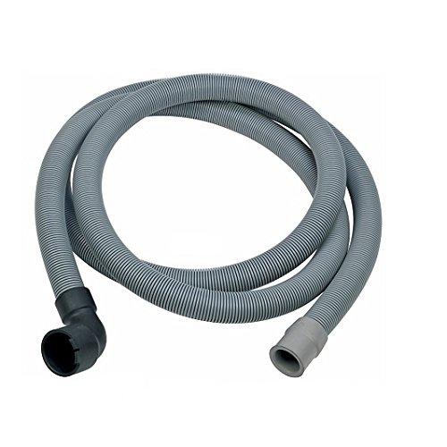 Tubo di scarico rondella tubo 2,25 m 22/30 mm dritto/con piega