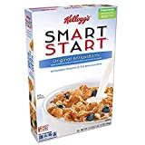 Kellogg's Smart Start Cereal, Antioxidants, 17.5 oz (Pack of 4)