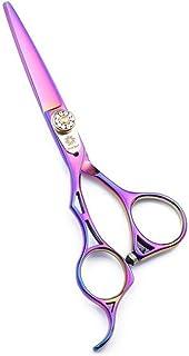 5.5'' Left Handed Hairdressing Scissors Set - Hairdresser Cutting and Thinning Scissors Kit - Barber Razor Edge Hair Trimm...