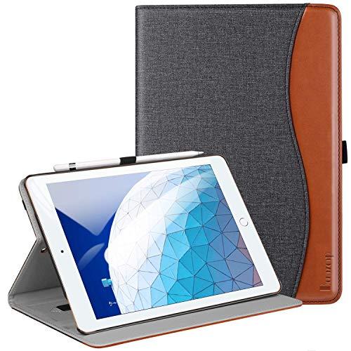 BenazcapiPadair10.52019ケース/iPadPro10.5ケース新型レザーアイパッドプロカバー高級PUレザーケース手帳型全面保護二つ折オートスリープ機能付きiPadPro10.5インチ(2017)とiPadAir10.5インチ(2019)通用スマートケース(ブラック)