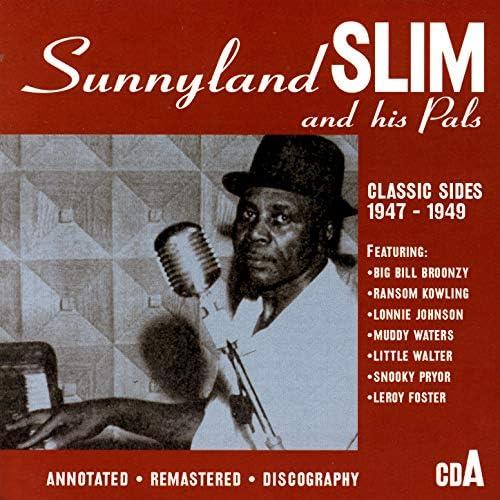 Sunnyland Slim, Johnny Shines, Robert Lockwood, Floyd Jones, Leroy Foster, J.B. Renoir, Jimmy Rogers & St. Louis Jimmy