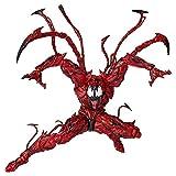 YIGEYI Figura de acción de Marvel Legends Carnage Venom Animado Vengadores extraíble Conjunto de Red...