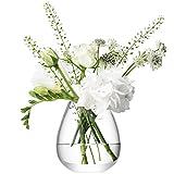 LSA(エルエスエー) フラワーベース(花器) クリア 高さ9.5cm FLOWER G1072-09-301