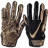 Nike Vapor Jet 5.0 Sonderedition, American Football Skill Handschuhe - schwarz/Gold Gr. XL