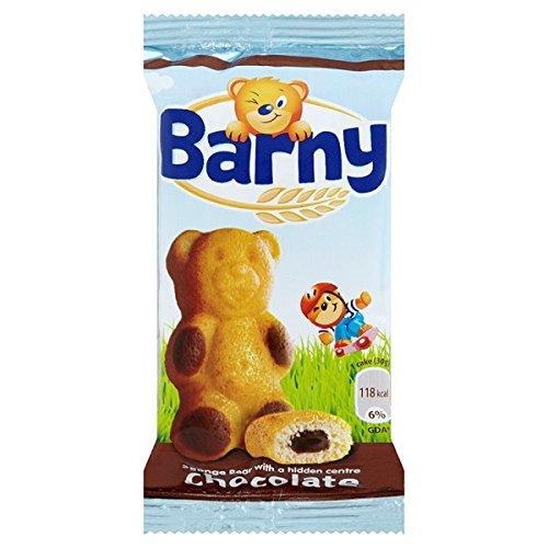Barny Schokolade Kids Sponge Bär 30g (Packung mit 24 x 30 g)