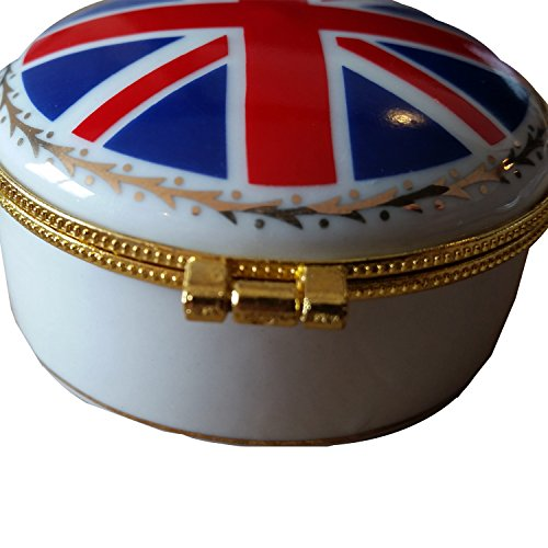 Boîte à bijoux en porcelaine fine – UJ Drapeau