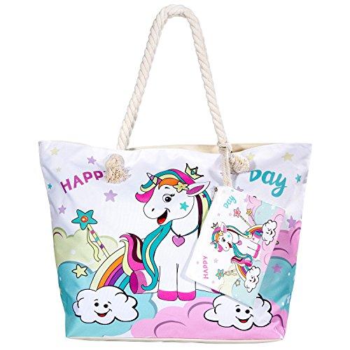 MOOKLIN Handtaschen Damen Taschen Schultertaschen Umhängetaschen Handtaschen für Frauen Tote Hobo Taschen Damen Henkeltaschen Groß - Happy Day