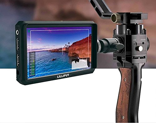 "Lilliput A5-5"" 4K HDMI Field Monitor (Black)"