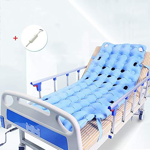 Colchón Antiescaras: Inflado Manual, Sin Necesidad De Usar Electricidad, Para Pacientes Discapacitados Postrados En Cama Y Tratamiento De Dolor De Cama Cuidado De Las Caderas Cama Inflable De Aire