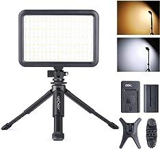 Videoleuchte K&F Concept Dauerlicht, Dimmbare Videolicht mit Tischstativ, Ultra-Dünn..