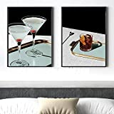cbVdfhndsgv Mode Bunte Getränk Wein Cocktail Poster Mojito