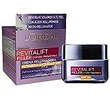 L'Oréal Paris - Crema rellenadora intensiva con Ácido Hialurónico y SPF 50, que devuelve volumen y protege tu piel con un solo gesto, Devuelve 10 años de volumen, Protegiendo de los rayos UVB y UVA