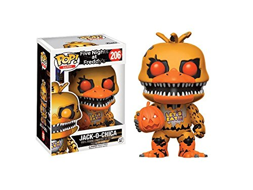 Funko POP Jack-O-Chica GameStop Exclusive #206 Five Nights At Freddys