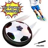 FAGORY Air Power Fußball Power Ball mit Schaum Stoßstange und LED Beleuchtung, Innen Aktivität Outdoor Training zum Jungen Mädchen Kinder, Geburtstag und Weihnachten Geschenk -