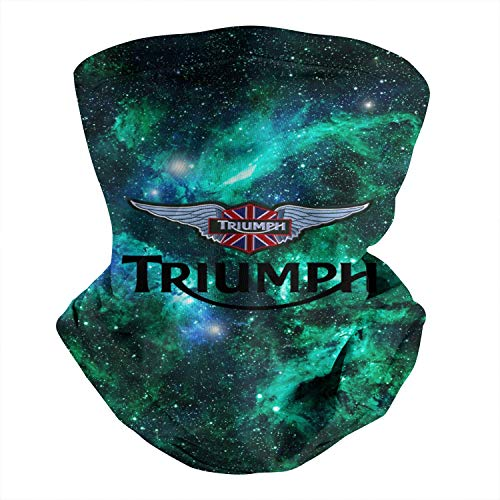 Triumph-Motorcycles-Logo- Face Cover Bandana for Men Women Dust Wind UV Sun Face Mask