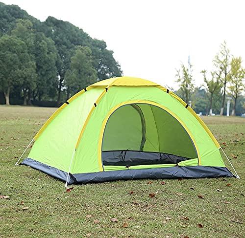 Tienda de campaña pop-up impermeable tienda de campaña instantánea tienda de campaña o camping senderismo viajes actividades al aire libre 200 * 150 * 110 cm