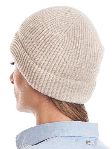 DALLE PIANE CASHMERE DALLE PIANE CASHMERE - Hut aus 100% Kaschmir - für Mann/Frau, Farbe: Beige, Einheitsgröße
