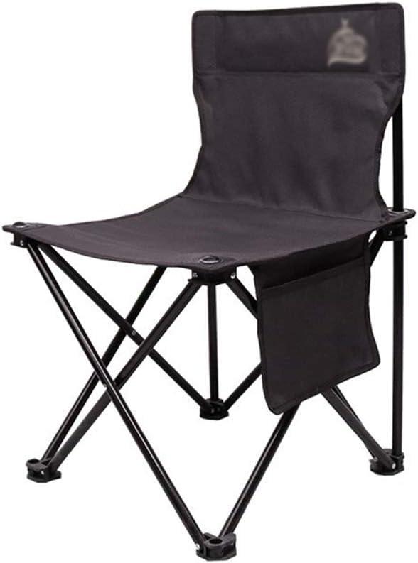 Silla del Director, sillas Plegables para Acampar, aptas para Exteriores/Playa/Barbacoa, Tres Dimensiones de Altura: 58CM / 65CM / 75CM