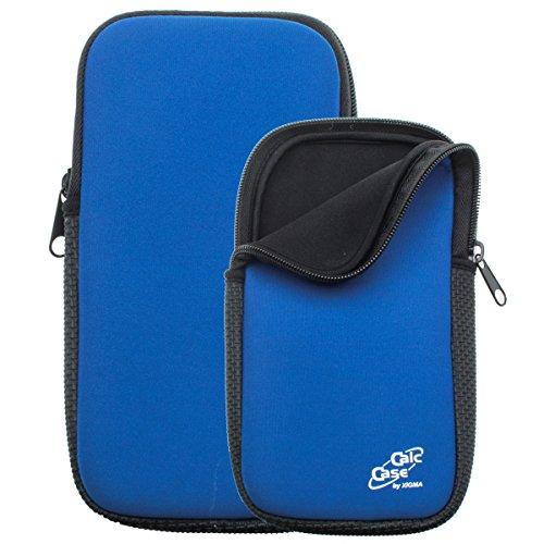 Schutztasche für Grafikrechner, blau