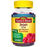 Best Iron Supplements - Nature Made Iron Gummies 18 Mg with Vitamin Review