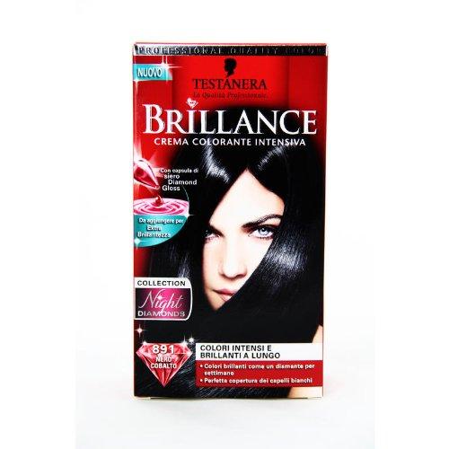 crema couleur brillance night diamonds collection extra brillante 891 noir cobalto