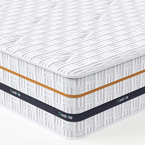 Queen Mattress Coolvie 11 Inch Memory Foam and Innerspring Hybrid Mattress in a Box Medium Firm product image