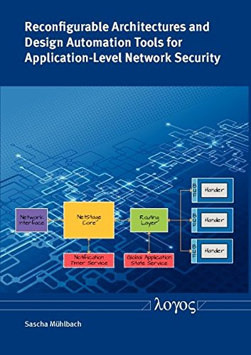 Reconfigurable Architectures and Design Automation Tools for Application-Level Network Security